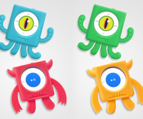 Mix Monsters iPod Shuffle Cases Have Their Eye On You