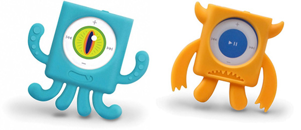 mix monsters fred friends ipod shuffle case 4g