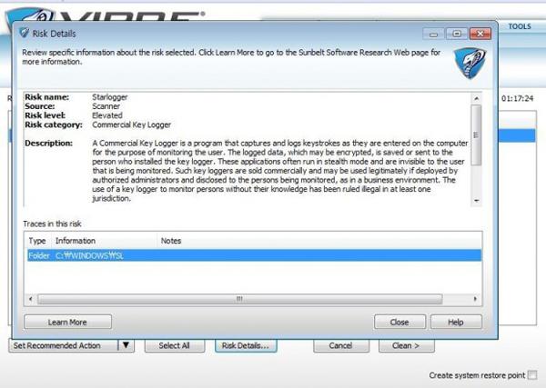 samsung laptop keylogger star logger false alarm language pack