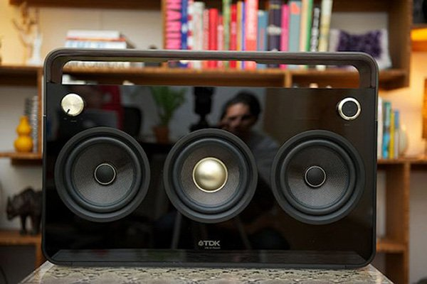 tdk boombox life on record music speaker player