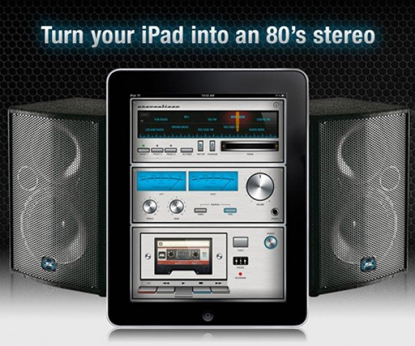 Stereolizer iPad App Digitally Revives the Cassette Tape