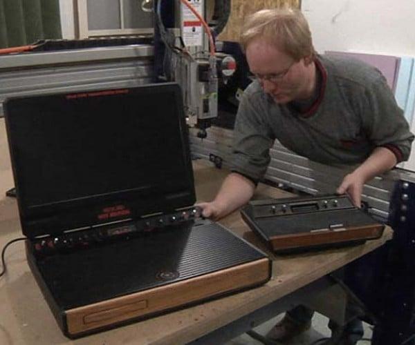 Xbox 2600: Ben Heck Builds Atari-Themed Xbox 360 Laptop