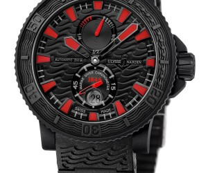 Ulysse Nardin Black Sea Watch Not Geeky, But Still Gorgeous