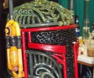 Boba Fett Helmet Pipe: The Empire Strikes Back, Then Has the Munchies