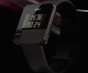 Braun Digital Watch Gets Analog Scroll Wheel