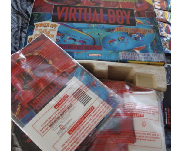 complete virtual boy collection 4