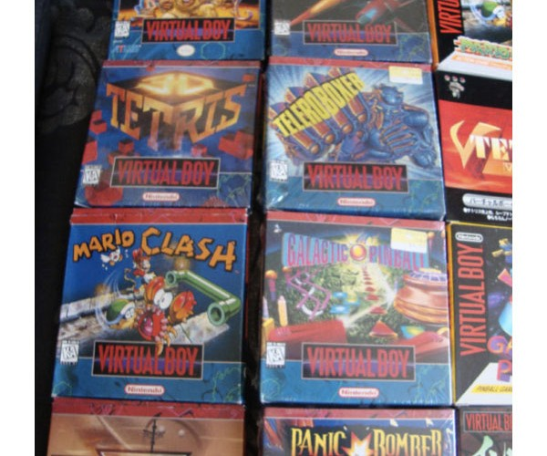 complete virtual boy collection 5
