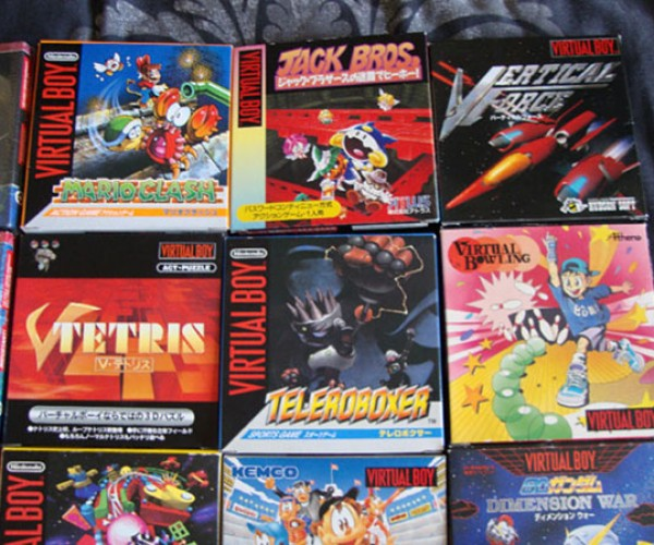 complete virtual boy collection 6
