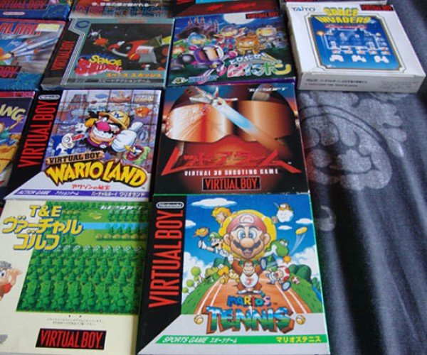 complete virtual boy collection 7