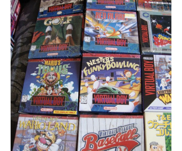 complete virtual boy collection 8