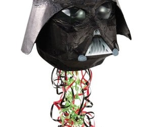 Darth Vader Piñata Filled With Candy, Streamers, Evil
