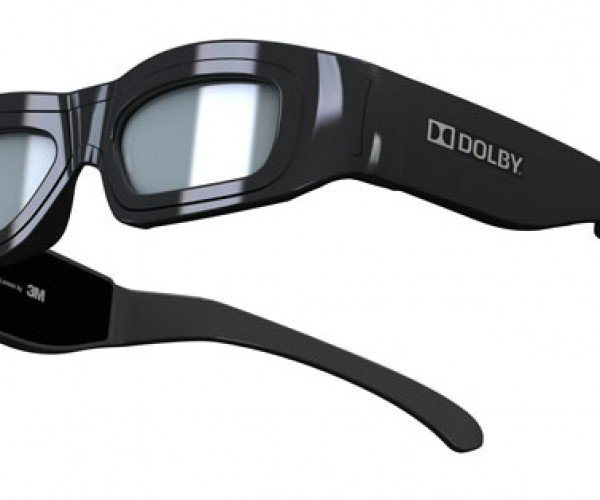 Dolby Shows Off Ugliest 3D Glasses in History