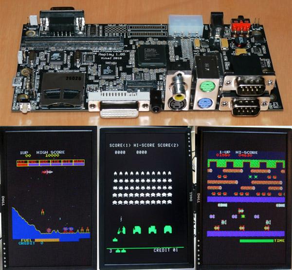 fpga_arcade_emulator_board