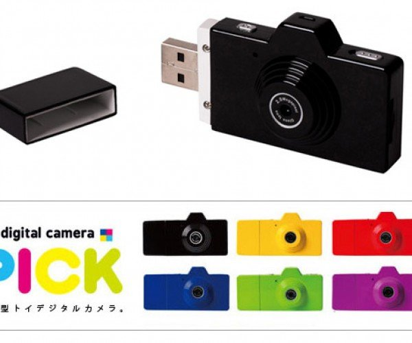 Fuuvi Pick Looks Like a Flash Drive, But it's a Camera