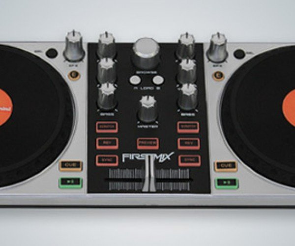 Gemini FirstMix USB DJ Controller: Mix Tracks on the Cheap
