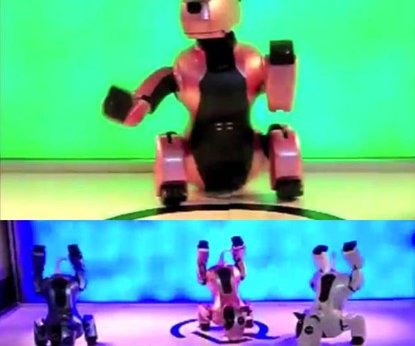 GENIBO Robot Dog Struts Its Stuff