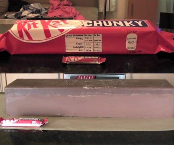 DIY Giant KitKat Bar Has 36,000+ Calories