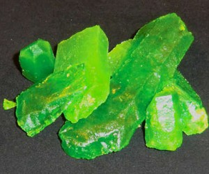 Glow-in-the-Dark Kryptonite Candy Will Defeat Your Super Sweet Tooth