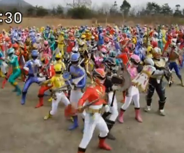 All the Power Rangers Return in an Epic, Candy-Colored Battle