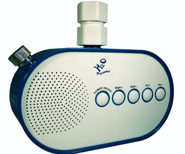H2O Shower Radio Gets Power from Water