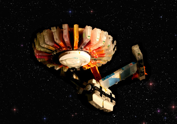 inkjet cartridge starship enterprise by faith pearson