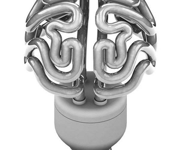 Insight Lightbulb Looks Like Brains, Perfect for Green Zombies