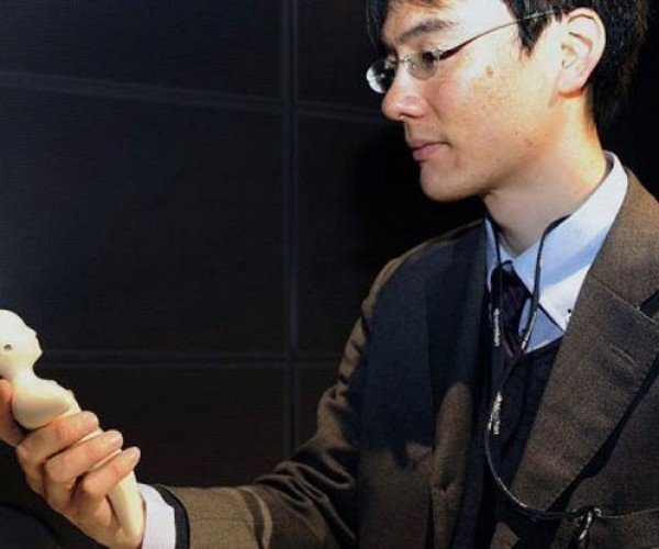 Japanese Phone Shaped Like a Human