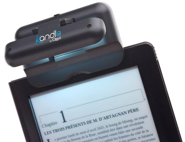 kandle led book light by ozeri