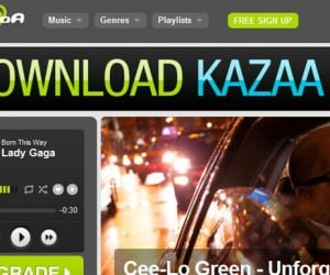 Kazaa Gives Apple the Finger, Streams Music from Web with No App Needed
