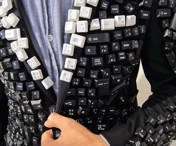 Keyboard Jacket: Stylishly Geeky, Best Left Home