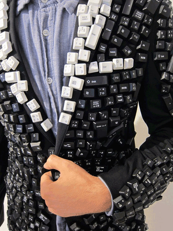 keyboard jacket