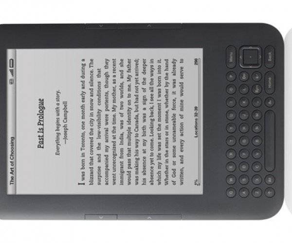 Kindle Gets Audible Audio Books via WiFi