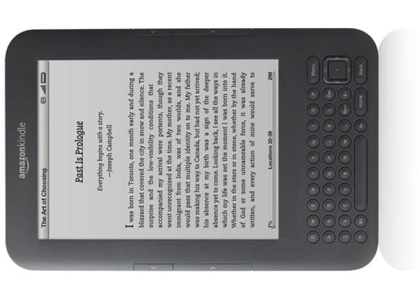 Kindle Gets Audible Audio Books Via Wifi