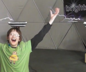 Kinect Hacked to Control Tesla Coils