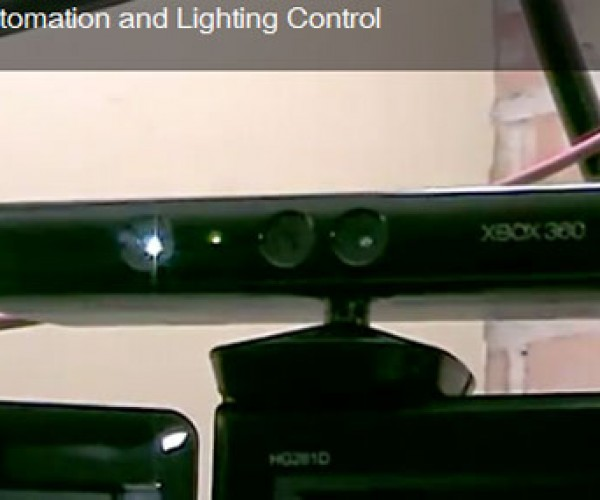 Kinect-omation Hack Controls Room Lights