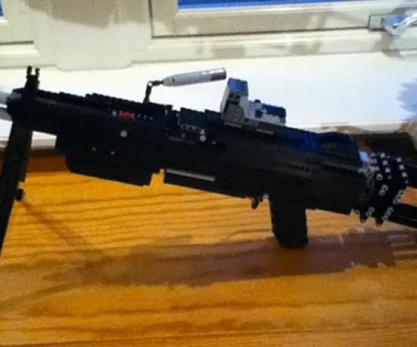 F'ing Epic LEGO Guns Actually Shoot