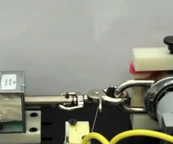 Combination Lock-Picking Robot: Where Was This in Middle School?