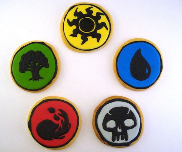 magic the gathering cookies by the domestic scientist
