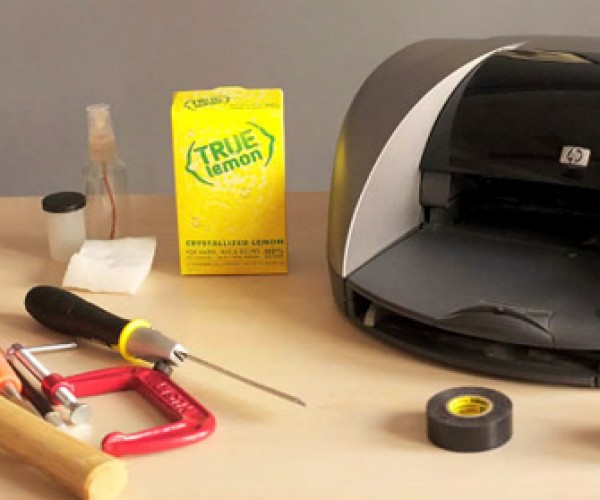 Invisible Ink Printer Hack: Way Too Much Work For Something You Can't See