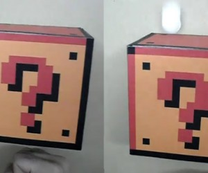 DIY Mario Coin Block Actually Coughs Up Coins When Punched
