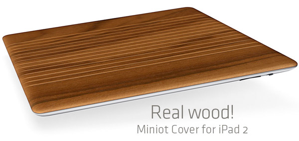 miniot ipad 2 wood smart cover 1