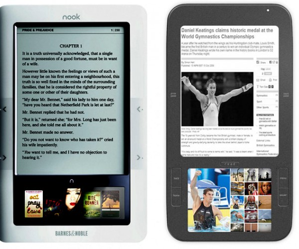 Barnes & Noble Settles Patent Suit with Spring Design Over Nook