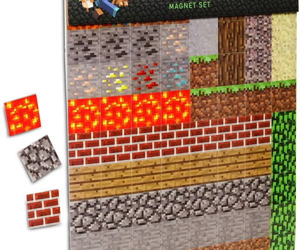 Official Minecraft Magnets: Notch Approved
