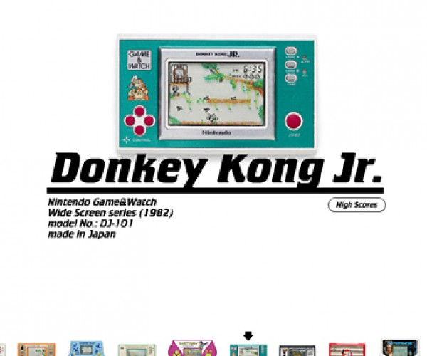 Pica Pic Lets You Play with/Cringe at Retro Handheld Games Online