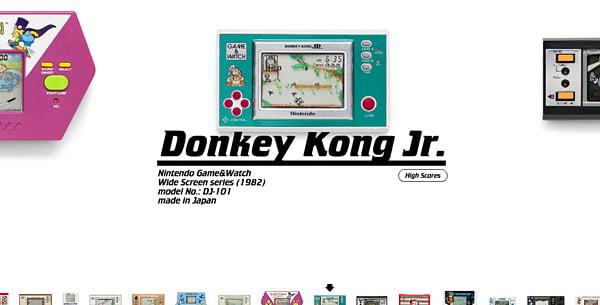pica pic retro handheld games website