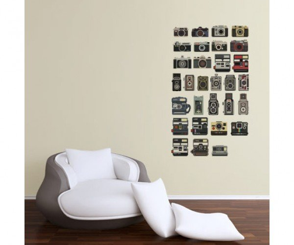 pixel perfect camera vinyl decals by bill brown 2