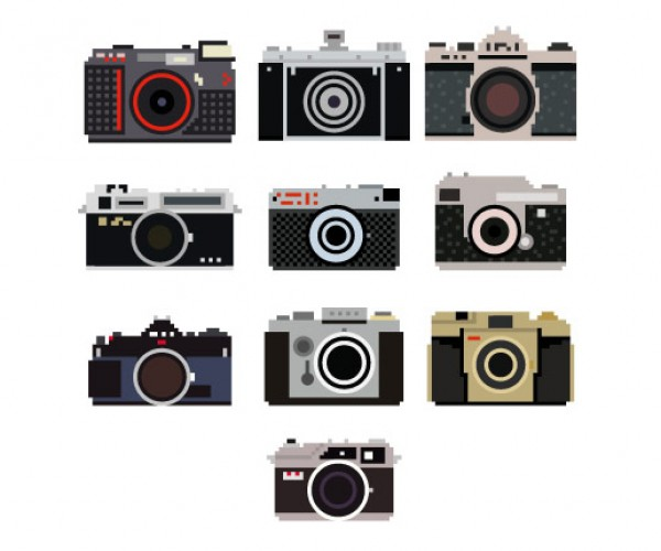 pixel perfect camera vinyl decals by bill brown 5