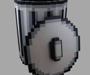 Pixel Trash Can: For Real World Deleting