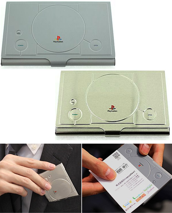 Playstation business card case the original playstation portable playstationbusinesscardholders colourmoves