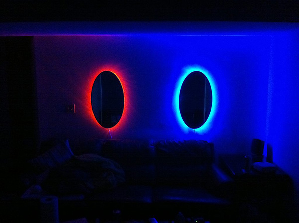 portal mirrors by corttana